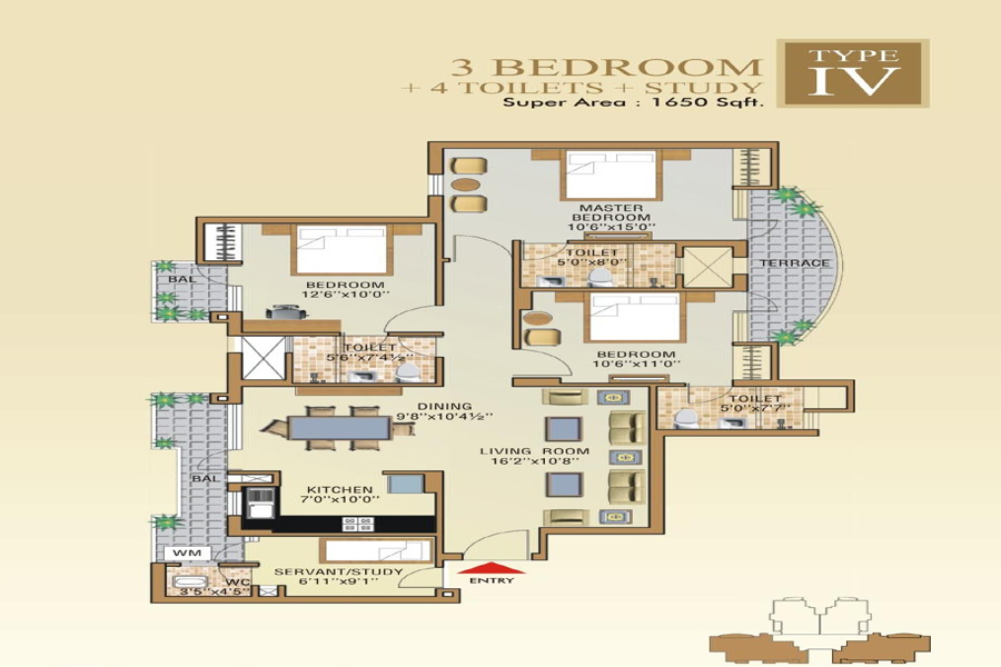 2 BHK Projects for Sale in Sector 76, Noida | Double ...