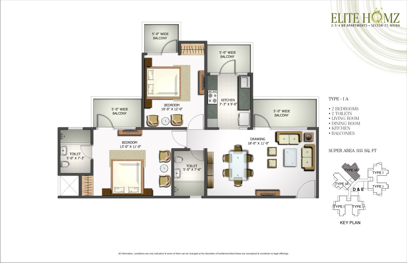 Elite homz resale price flats in noida sector 77 ready to for Elite house plans