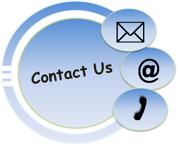small contact us logo