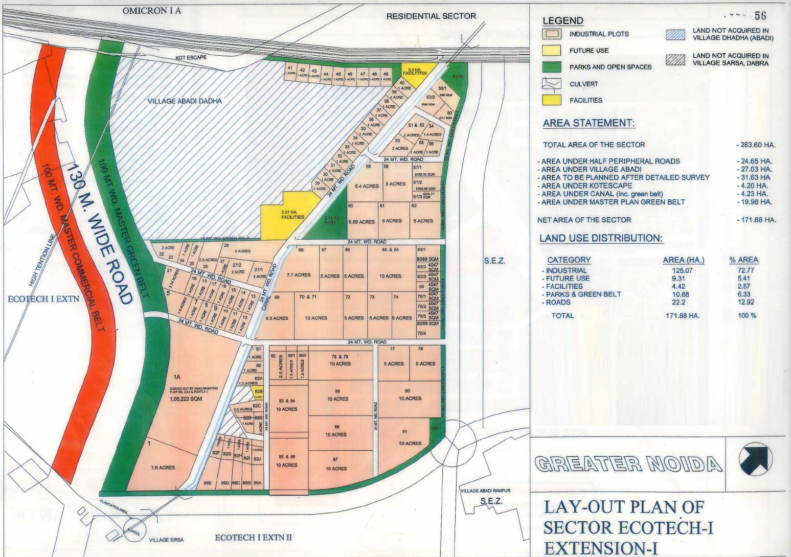 industrial property in ecotech greater noida